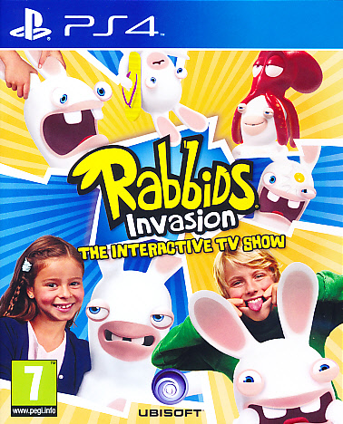 "Packshot for ""Rabbids Invasion PS4"""