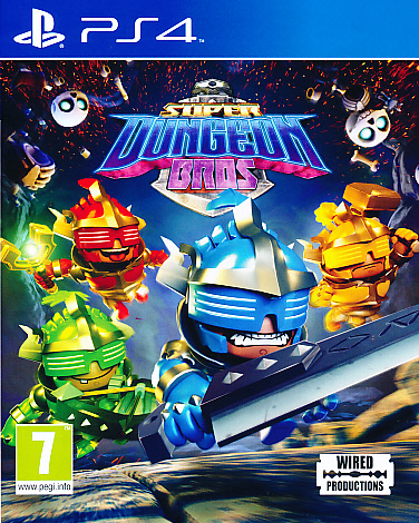 "Packshot for ""Super Dungeon Bros PS4"""