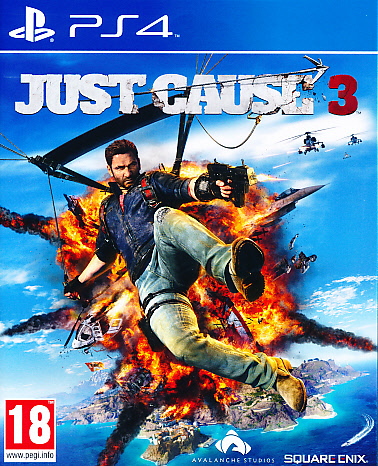 """Packshot for """"Just Cause 3 PS4"""""""