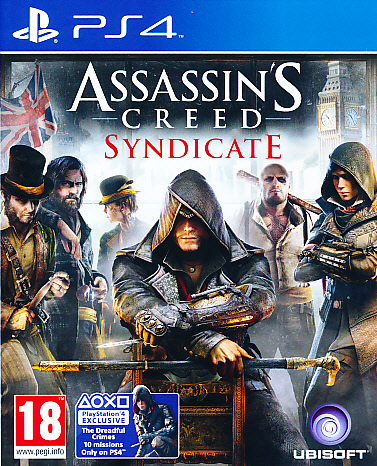 """Packshot for """"Assassins Creed Syndicate PS4"""""""