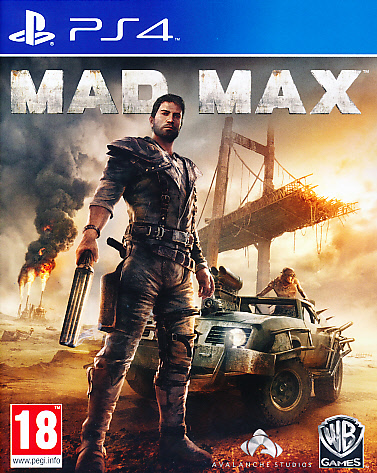 """Packshot for """"Mad Max PS4"""""""