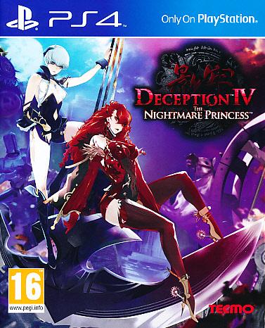 """Packshot for """"Deception IV Nightmare Princess PS4"""""""