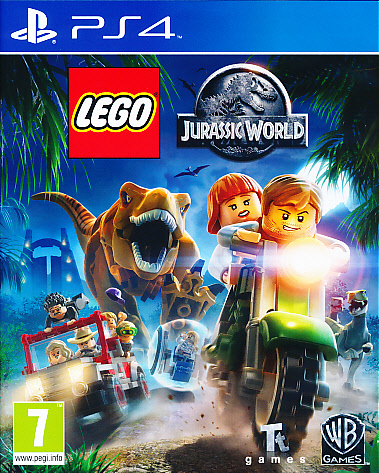 "Packshot for ""Lego Jurassic World PS4"""