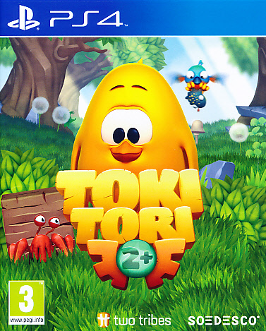 "Packshot for ""Toki Tori 2 Plus PS4"""