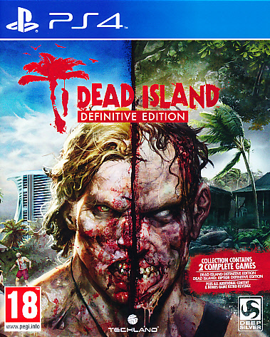 "Packshot for ""Dead Island Definitive Edition PS4"""