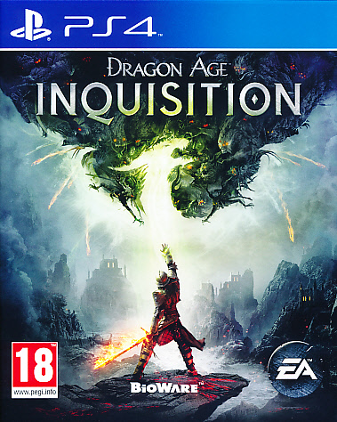 "Packshot for ""Dragon Age Inquisition PS4"""