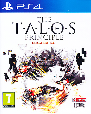 """Packshot for """"The Talos Principle Deluxe Ed. PS4"""""""