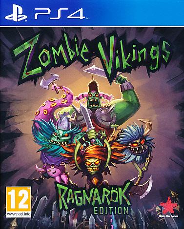 """Packshot for """"Zombie Vikings Ragnarok Edition PS4"""""""