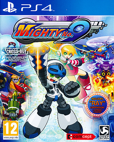 """Packshot for """"Mighty No 9 PS4"""""""
