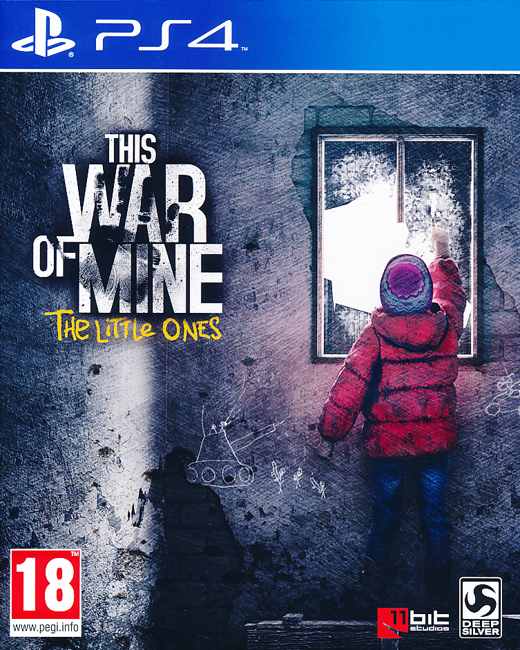 "Packshot for ""This War of Mine Little Ones PS4"""