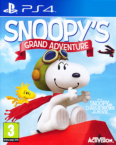 """Packshot for """"Snoopys Grand Adventure PS4"""""""