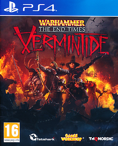 "Packshot for ""Warhammer End Times Vermintide PS4"""