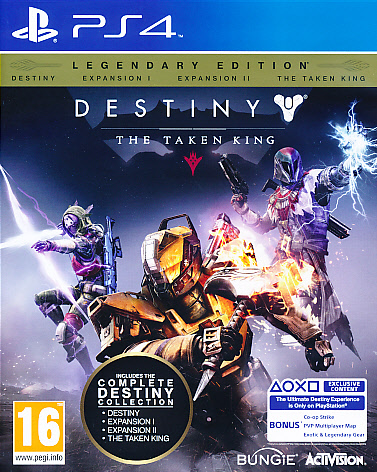 "Packshot for ""Destiny Taken King Legend. Ed. PS4"""