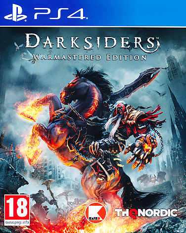 "Packshot for ""Darksiders Warmastered Ed. PS4"""
