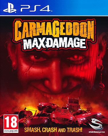 """Packshot for """"Carmageddon Max Damage PS4"""""""