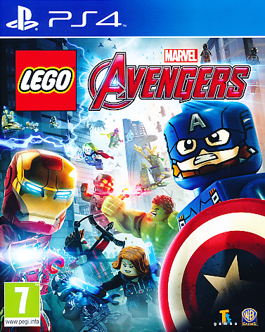 "Packshot for ""Lego Marvel Avengers PS4"""