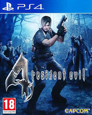 "Packshot for ""Resident Evil 4 HD PS4"""