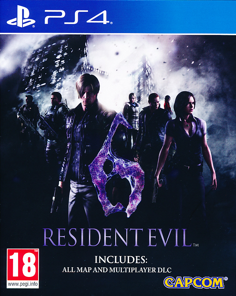 "Packshot for ""Resident Evil 6 HD PS4"""