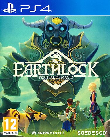 """Packshot for """"Earthlock PS4"""""""