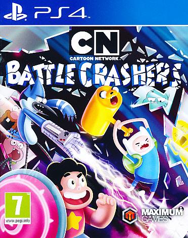 "Packshot for ""Battle Crashers Cartoon N PS4"""