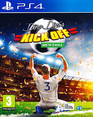 """Packshot for """"Dino Dins Kick Off Revival PS4"""""""