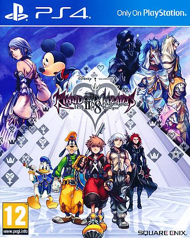 "Packshot for ""Kingdom Hearts HD 2.8 PS4"""