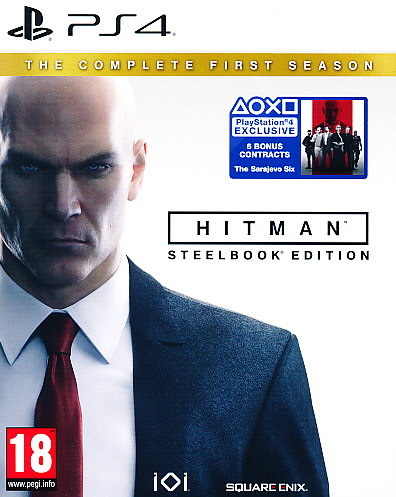 "Packshot for ""Hitman Complete 1st Season SteelPS4"""