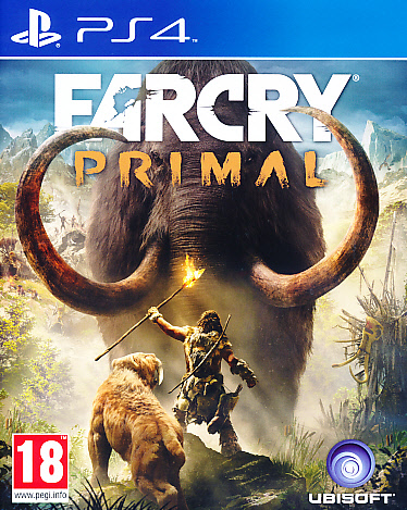 "Packshot for ""Far Cry Primal PS4"""