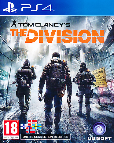 "Packshot for ""The Division NORD PS4"""