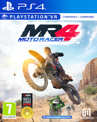 "Packshot for ""Moto Racer 4 PS4"""