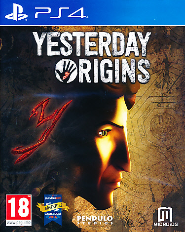 "Packshot for ""Yesterday Origins PS4"""