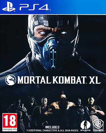 "Packshot for ""Mortal Kombat XL PS4"""