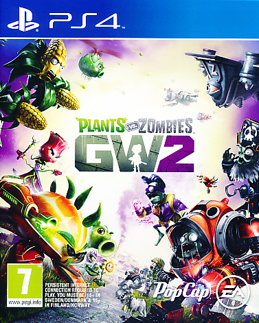 "Packshot for ""Plants vs Zombies GW 2 NORD PS4"""