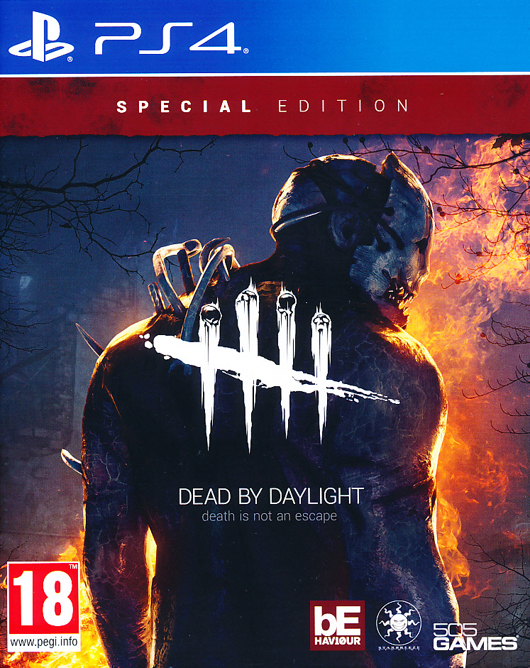 "Packshot for ""Dead By Daylight Special Ed. PS4"""