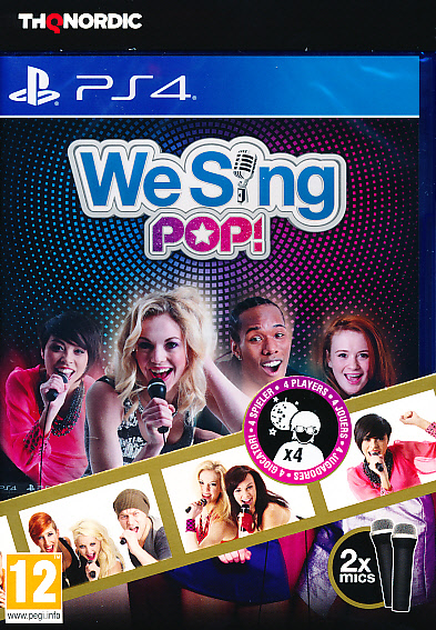 "Packshot for ""We Sing Pop 2 Mic Bundle PS4"""