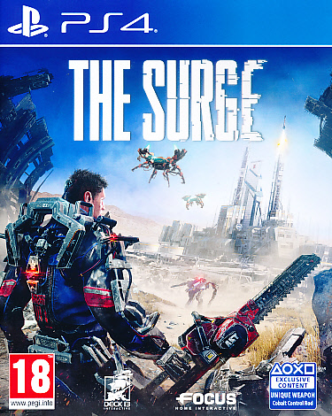 """Packshot for """"The Surge PS4"""""""