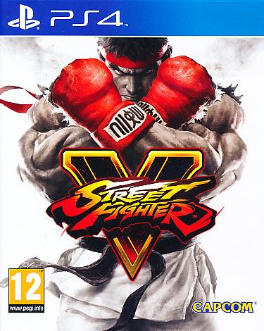 """Packshot for """"Street Fighter V PS4"""""""
