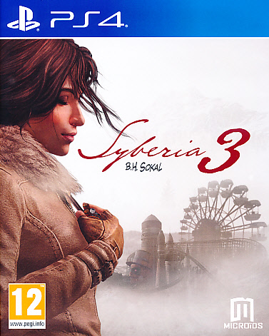 """Packshot for """"Syberia 3 PS4"""""""