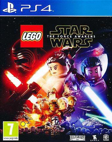 "Packshot for ""Lego Star Wars Force Awakens PS4"""