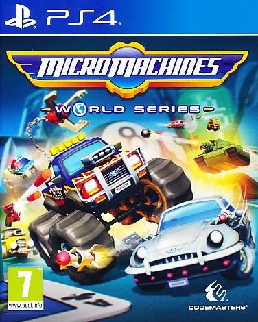 "Packshot for ""Micro Machines World Series PS4"""