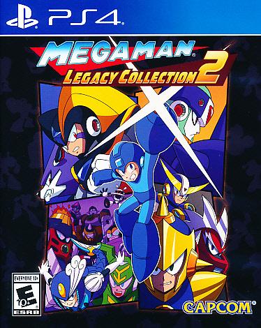 """Packshot for """"Mega Man Legacy Coll Vol 2 ESRB PS4"""""""