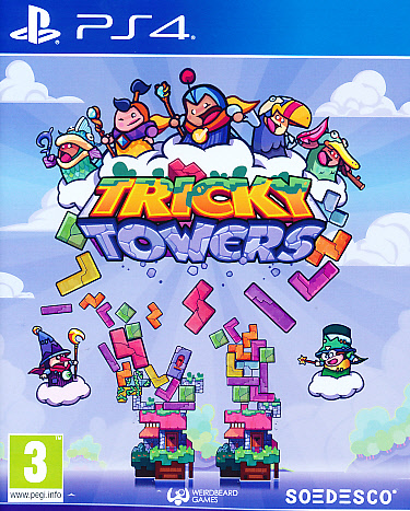 "Packshot for ""Tricky Towers PS4"""