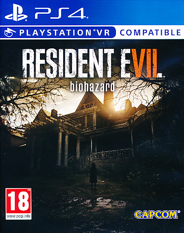 "Packshot for ""Resident Evil 7 Biohazard PS4"""
