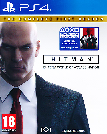 "Packshot for ""Hitman Complete 1st Season PS4"""