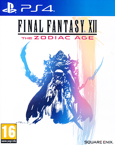 "Packshot for ""Final Fantasy XII Zodiac Age PS4"""