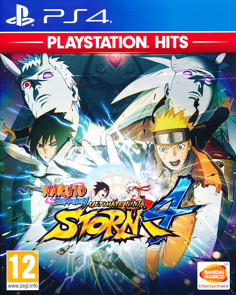 "Packshot for ""Naruto Shippuden Ultimate NS 4 PS4"""