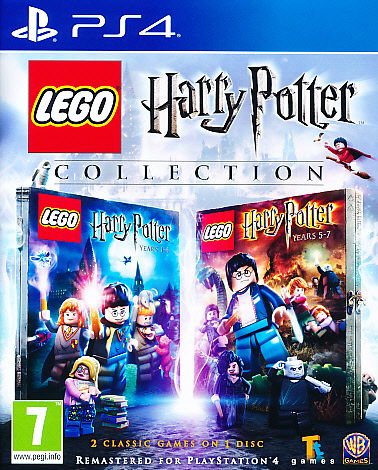 "Packshot for ""Lego Harry Potter Collection PS4"""