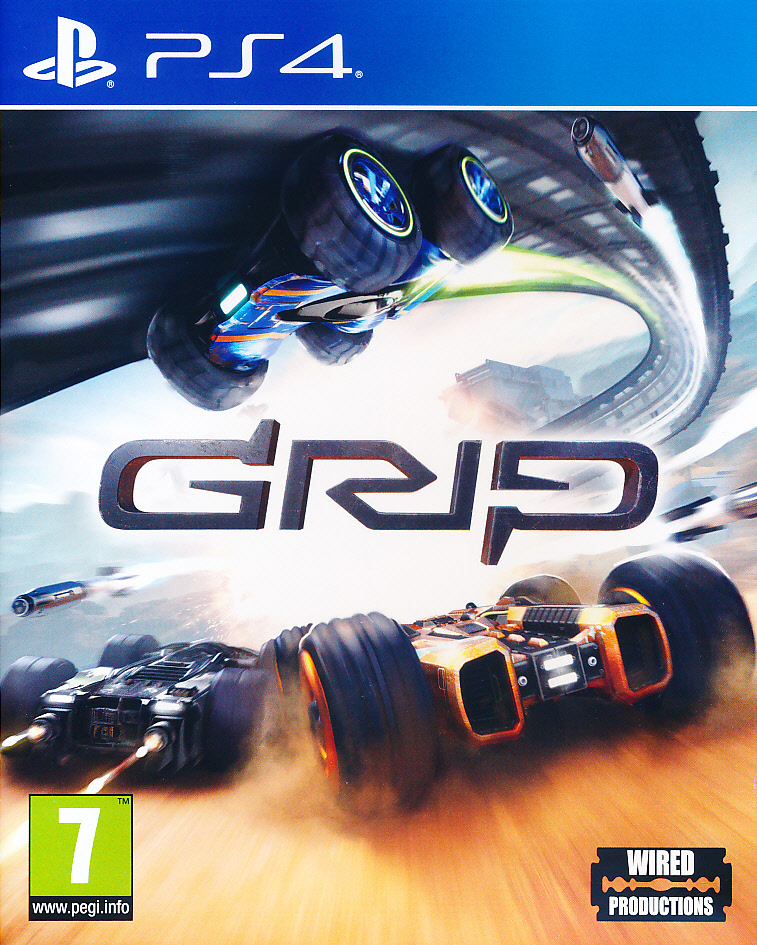 "Packshot for ""Grip Combat Racing PS4"""
