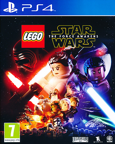 "Packshot for ""Lego Star Wars Force Awakens PS4"""