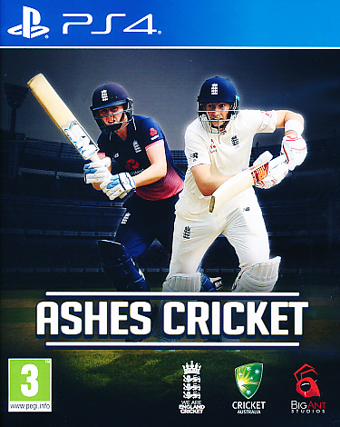 "Packshot for ""Ashes Cricket PS4"""